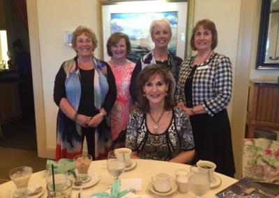 di Roth, Kathie Bennett, Nancy Padgett, Katie Mazzi with Karen White