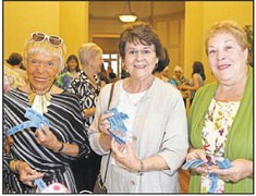 Claire Carlson, Annette Emerich and Linda Rice