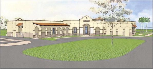 The Punta Gorda Library-New Design