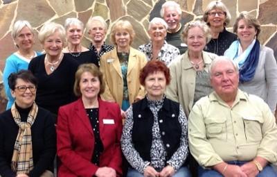 2015 Friends Board, Volunteers, Library Staff