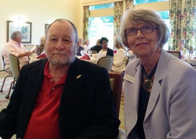 Punta Gorda Library, Alvin Gould and Mary Knowlton