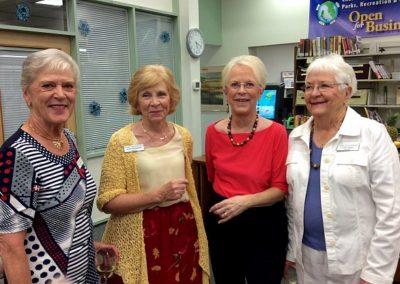 Jane Fitzpatrick, Lois Modrow, Nancy Lewis, Celia Eames