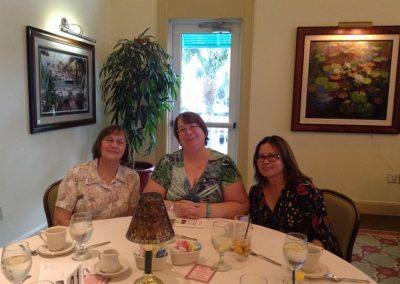 Library Staff, Nancy, Kathy, Minerva