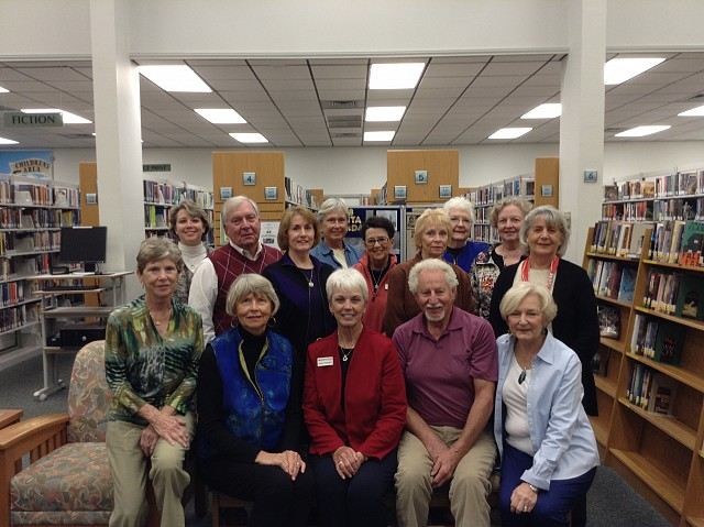 2014 Friends Board, Library Staff, Volunteers