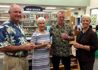Steve Padgett, Ginny Caldwell, Lavern Modrow, Nancy Padgett