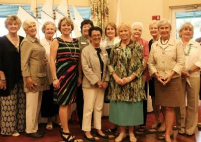 The Friends Board hosted a successful luncheon.