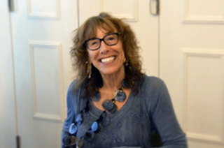 Barbara Shapiro, author smiles for the camera