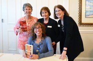 Cathy Graham, Katie Mazzi, Serena Wycoff, with Barbara Shapiro