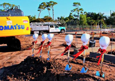 New Punta Gorda Charlotte Library 2018 Groundbreaking Ceremony