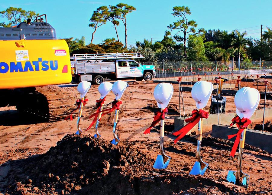 New Library Groundbreaking Ceremony