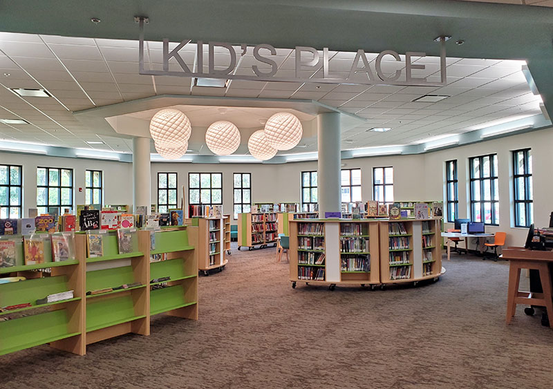 Picture of the Kids Place at the Punta Gorda Charlotte Library